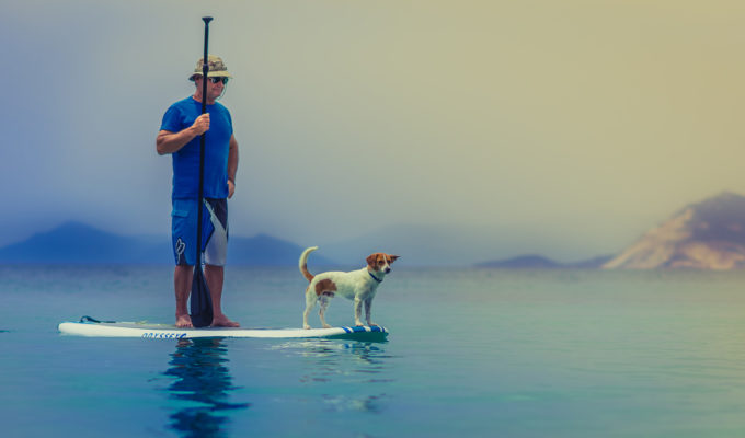 Best-Inflatable-Paddleboards-(ISUP)-For-Dogs