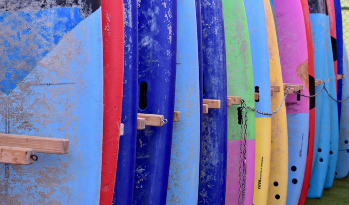 Be sure to clean your inflatable paddle board after each use