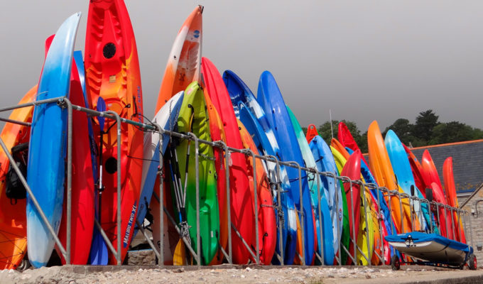 Plastic SUP's are the most durable but also the most heavy SUP