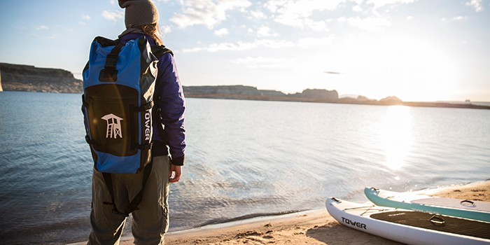 Inflatable Paddleboards Roll Up And Fit In Backpacks
